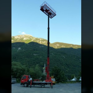 Truck mounted lift 22m