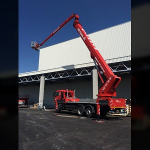 Truck mounted lift 54m