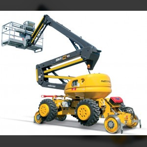 Articulating boom lift 16m / railway-road
