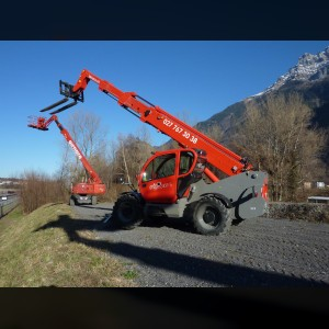 Telescopic forklift 4T
