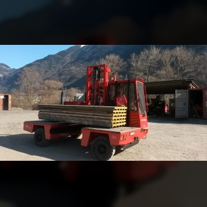 Lateral Forklift 3T