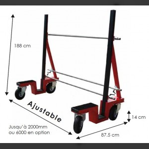 Glass Trolley 800kg